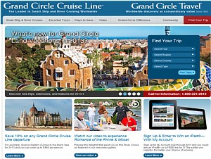 Grand Circle Travel website